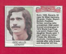 West Germany Gerd Muller (DMHF)